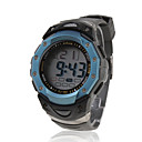 Buy Waterproof Digital Multifunction EL Light Automatic Watch Calendar & Alarm Chronograph - Blue Cool Unique