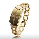 dámská módní slitina zlata quartz náramek hodinky