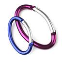 mousqueton en aluminium elliptique (couleur aléatoire)