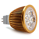 Focos MR16 GU5.3 W 4 LED de Alta Potencia 360 LM Blanco Natural DC 12 V