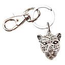 Cheetah Head Style Keychain