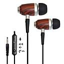 kanen estéreo baixo do fone de ouvido in-ear w / remoto e microfone para iphone 6/6 mais