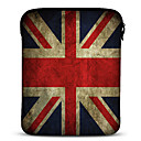 Union Jack neopren tablett ermet sak for 10