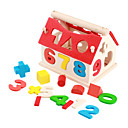 Drvena kuća brojčana - prostorna trening za djecu