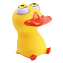 Squeeze Toy Eye Popping Rubber Duck (Yellow)
