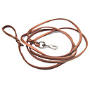 Genuine Leather Dog Leash (300cm/118inch, Brown)