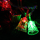 7M 30-LED Tinkle-Bell-Shaped Colorful Light LED Strip Fairy Lamp for Festival Decoration (220V)