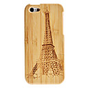 Eiffel Tower Pattern Detachable Wooden Case for iPhone 5