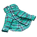 Fashionable Plaid Style Long-Sleeved Shirt for Dogs (Assorted Color,XS-XL)