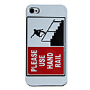 Advertisement Style Hard Case for iPhone 4/4S