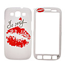 Sexy Lip Pattern edestä ja takaa Full Body Case for Samsung Galaxy S3 I9300