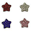 Star Shape Stylish Decoration Charm for DIY Collar (Assorted Color)