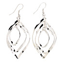 Drop Earrings Women's Sterling Silver Earring