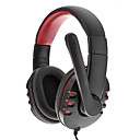 SOUND FRIEND High-quality USB Plug Audio Stereo Headphone SH-010(Red And Black)