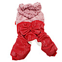Dog Hoodies - XS / S / M / L / XL / XXL - Winter - Red / Beige / Rose Cotton