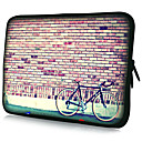 Bicycle Pattern Laptop Tablet Waterproof Sleeve Case For 7