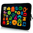 Funny Patterns Laptop Tablet Nylon Material Waterproof Sleeve Case for 11