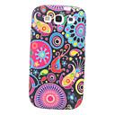 Flower Pattern Soft TPU Case voor Samsung Galaxy S3 I9300
