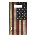 Retro Style US Flag Pattern Hard Case for LG Optimus L7 P705