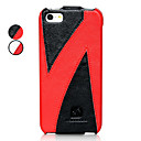 Z Shaped Pattern Flip Up And Down Design Full Body Case for iPhone 5/5S (Assorted Colors)