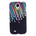 Colorful Stripes Pattern Soft Case for Samsung Galaxy S4 I9500