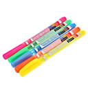 5 Pack Färgglada Highlighter (gul, röd, orange, grön, blå)