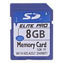 Elite Pro scheda di memoria SD ad alta velocità 8gb (blu)
