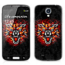 Dragon Pattern Front and Back Protector Stickers for Samsung Galaxy S4 I9500