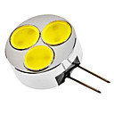 G4 3W 240-270LM 6000-6500K Natural White Light LED Spot lamp (12V)
