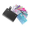 unisex farverige pu læder kreditkort holder