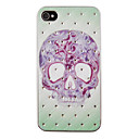 Skull Tattoo Pattern Caso Voltar Zircon para iPhone 4/4S