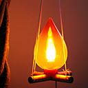 Lenha Estilo Lâmpada Night Light (cor aleatória)
