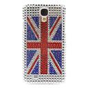 Rhinestone Urządzone flagi Anglii wzoru twarde etui do Samsung Galaxy S4 I9500