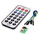 IR Receiver Module Wireless Remote Control Kit for (For Arduino) (1 x CR2025)