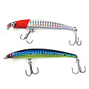 Trulinoya-Hard Mini Bait Minnow 90mm/6g/1.0m Fishing Lure