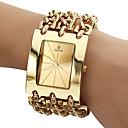 Buy Men's Analog Quartz Gold Steel Band Bracelet Watch (Assorted Colors) Cool Unique