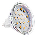GU5.3 - 4 W- MR16 - Spot Lights (Varmt vit 300 lm DC 12/AC 12