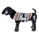 Christmas Style Deers Pattern Sweater for Pets Dogs (Assorted Sizes)