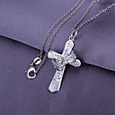 Crown and Cross Pendant (Pendant Only)