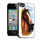 Horse Pattern 3D Effect Case for iPhone4/4S