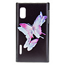 Beautiful Butterflies Pattern Hard Case for LG E612(Optimus L5)