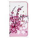 Wintersweet Pattern Full Body Case-kortspor for Sony L36h (Xperia Z)