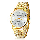 Men's Watch Dress Watch Concise Style Gold Round Dial Cool Watch Unique Watch