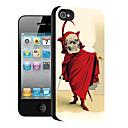 hodeskalle mønster 3d effekt sak for iphone5