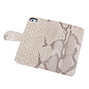 Snakeskin Grain Leather Case för iPhone 4/4S