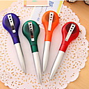 Multi-Functional Ballpoint Pens with 1m Tape Measure (Random Color)