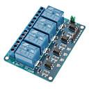 4 kanavainen 12v alhainen laukaista rele moduuli (Arduino) (toimii virallisen (Arduino) levyt)