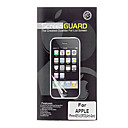 Three Pieces Packed Professional Anti-glare LCD Film Guard Set with Cleaning Cloth for iPhone 4/4S