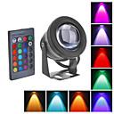 10 Flomlys/Undervannslamper (RGB