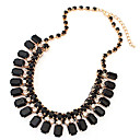 Buy Jewelry Chain Necklaces Wedding / Party Daily Casual Sports Alloy Resin Women Black White Green Gifts